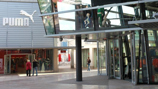 Das Designer Outlet in Wolfsburg. (Archivbild)
