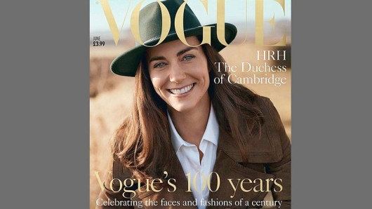 Vogue Cover Kate Middelton